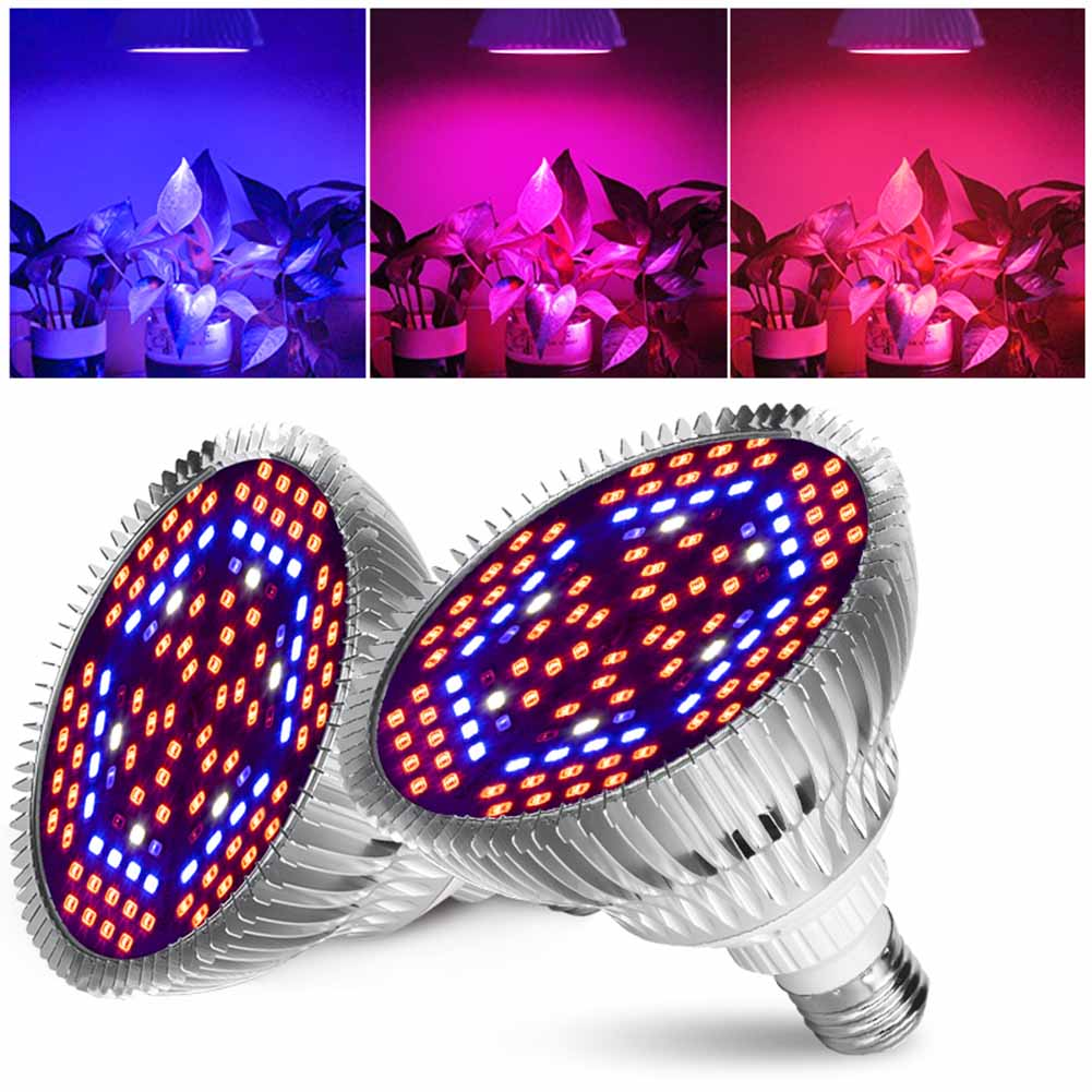 E27 LED Grow Lamp Full Spectrum LED Plant Growth Lamp Indoor Lighting Grow Lights Plants E27 Hydroponic System Grow Box