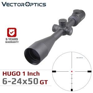 Image 1 - Vector Optics Hugo 6 24x50 GT 1 Inch Riflescope Hunting Rifle Scopes Min 10Y Illuminated Turret Lock Side Focus .223 .308win