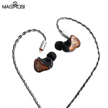 Magaosi V3 2BA + 1DD Driver Hybrid HiFi In-ear Earphones Noise Reduction Earbuds with 2pin Detachable cable for Audiophile IEM shozy neo 3ba driver in ear earphones hifi premium customized monitor iems with detachable cable