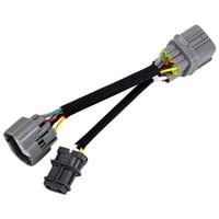 Motor kablo demeti Obd1 10 Pin Obd2 distribütörü Jumper Harness Acura Honda için baş döndürücü Motor Yatakları    -