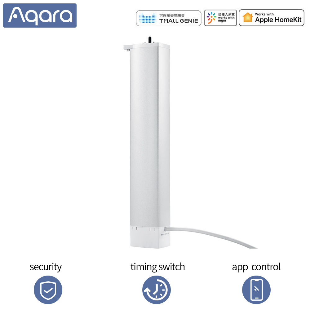 Aqara Curtain Motor Smart Curtain Zigbee For Mihome APP Remote Control Wireless Timing Electric Curtain