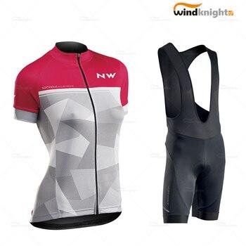 Vêtements de cyclisme Ropa Ciclismo Northwave femmes Cycle Jersey ensemble à manches courtes femme vtt uniforme vêtements d'été vélo de route combinaison