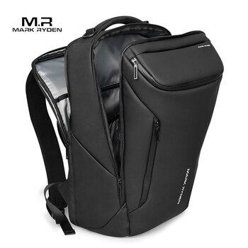 Mark Ryden, новинка 2021, модный мужской рюкзак с защитой от воров, многофункциональная водонепроницаемая сумка для ноутбука 15,6 дюйма, мужская дор...