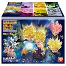Bandai-figura de acción de Dragon Ball Shokugan, modelo de Pvc Original, juguete coleccionable, Motion 1, Sun Goku, Gohan