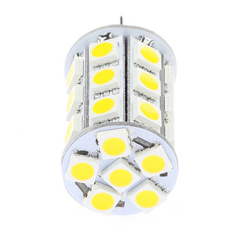 27Led Dimmable G4 Lighting Lamp SMD 506012VAC/12VDC/24VDC Yachts Boats Ships Automobiles Carts Camper Bulb 10pcs/lot