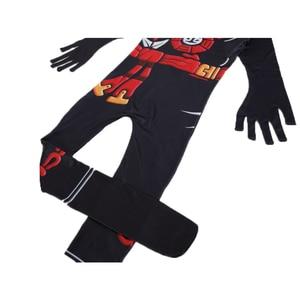 Image 5 - Ninja Costume Kids Costumes Halloween Costumes for kids Ninjago Costume Boys Halloween Dress Cosplay Superhero Jumpsuits Suits