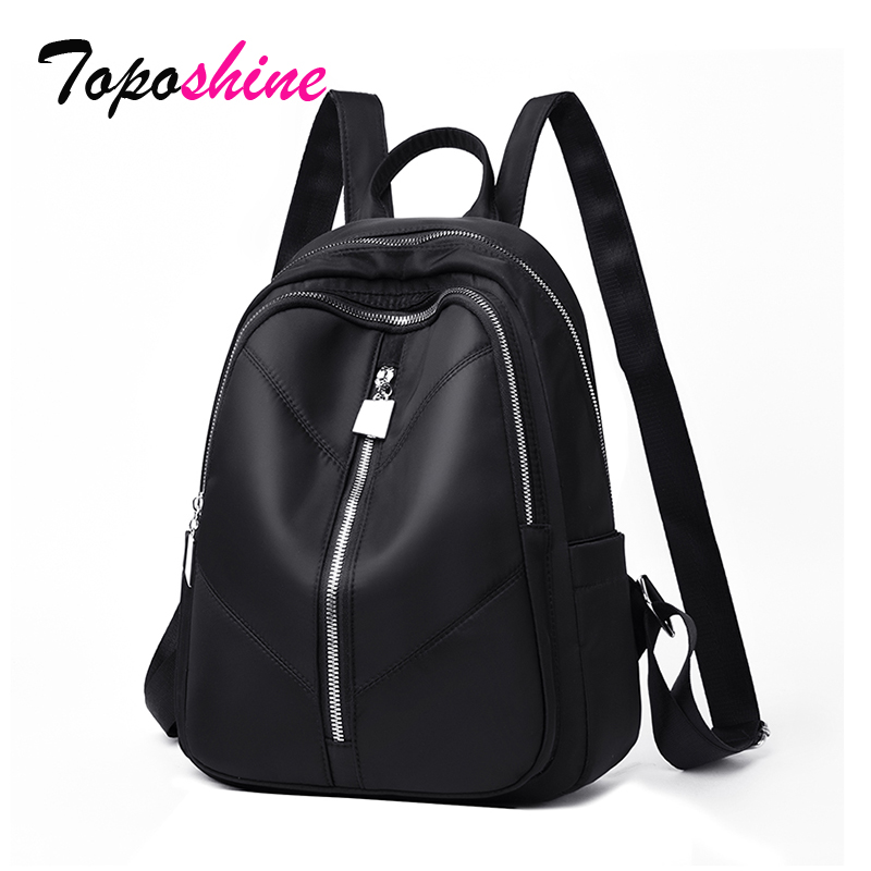 2019 New Oxford cloth waterproof student bag Travel casual backpack outdoor bag