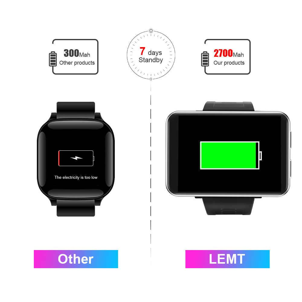 """スマート腕時計男性女性 4 グラムスマートウォッチアンドロイド 7.1 5MP カメラ 2.86 """"2700 バッテリースマート · ウォッチ Gps フィットネスブレスレット iphone xiaomi"""