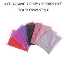 Pink Purple 7 Colors Single Tie Dye Pack Cotton Fabric Textile Paint Powder For T-shirt Hat Scarf Coloring