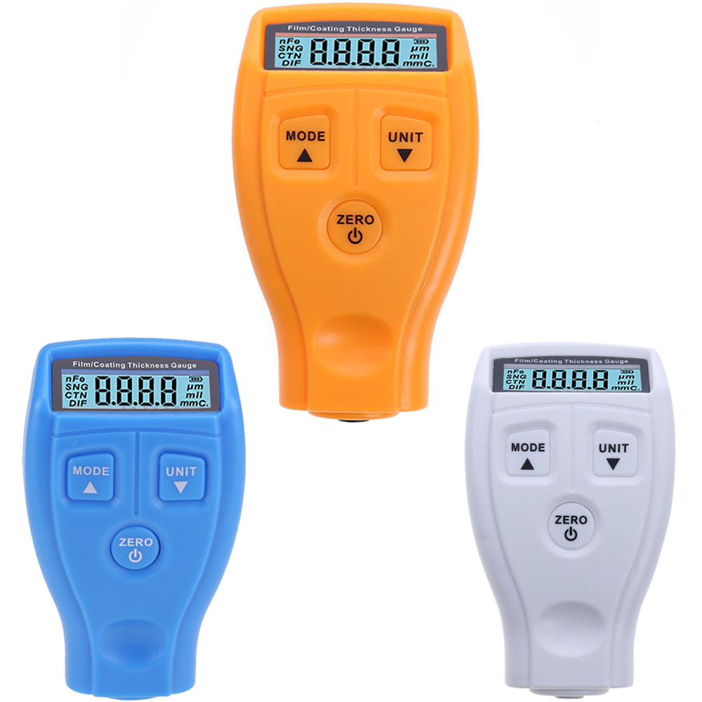 GM200 Digital Coating Film Paint Thickness Gauges Tester Non-magnetic Car Surface Thickness Gauge Measurement Instruments
