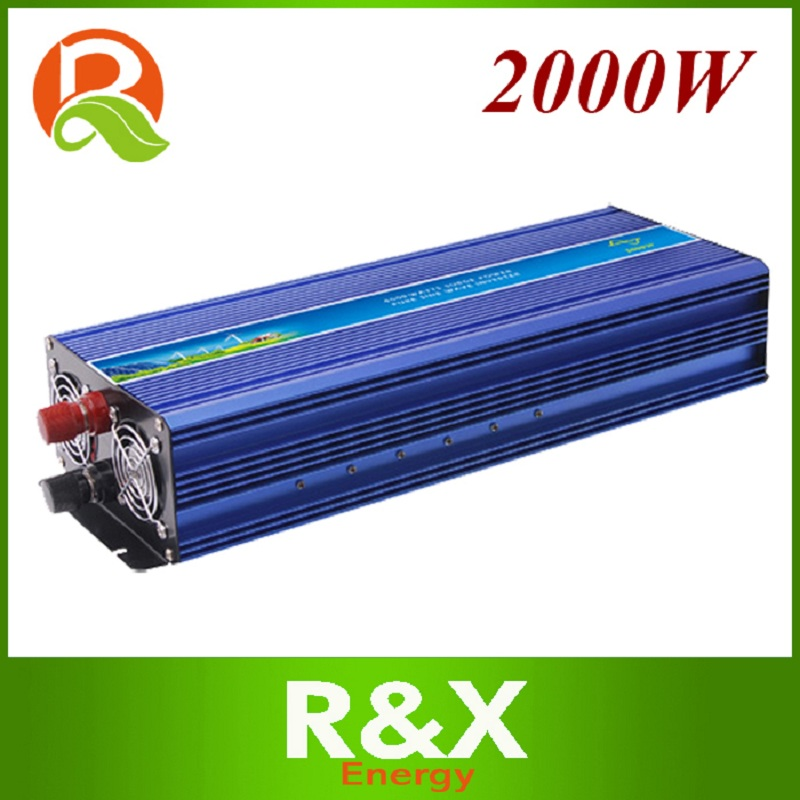 R & X 2000W off Grid Inverter Reine Sinus Welle Inverter Solar Power Inverter <font><b>12</b></font>/24/48V <font><b>DC</b></font> zu 100/110/120/<font><b>220</b></font>/230/240V AC image