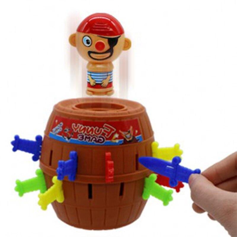 Étrange nouveaux jouets Pirates décompression difficile baril Plug épée jeu crise seau
