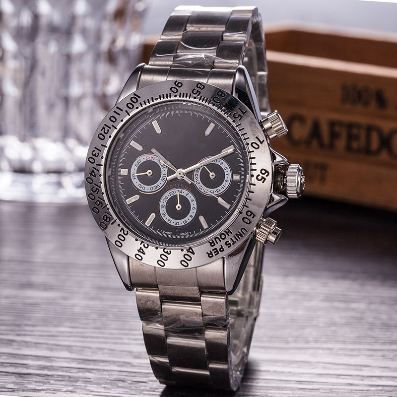 Top Luxury Brand Mens Mechanical Watch with Stainless Steel Automatic Movement Watch Men Self-wind Watches aaa Wristwatches
