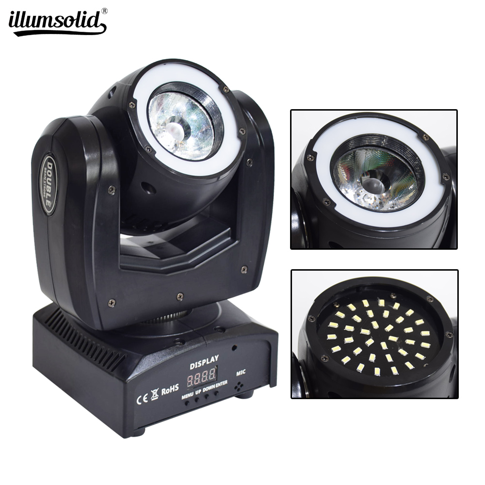 Led moving head light RGBW DMX Control Strobe Effects with DJ Stage Lighting Club Wedding Party