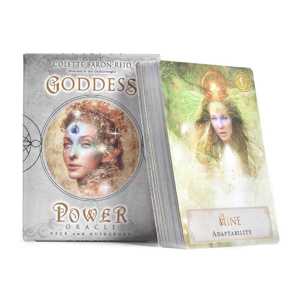 Nieuwe 52Pcs Godin Power Tarot Kaarten Board Game Card Volledige Engels Versie Hoge Kwaliteit Tarot Dek Voor Familie Party game