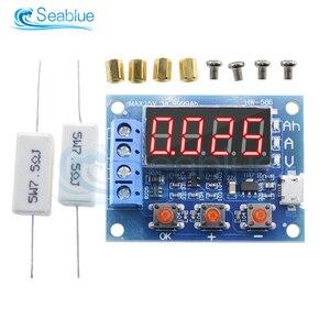 Тестер заряда батареи ZB2L3, светодиодный цифровой дисплей, блок питания 18650 с литиевым аккумулятором, измеритель расхода свинцово-кислотной ...