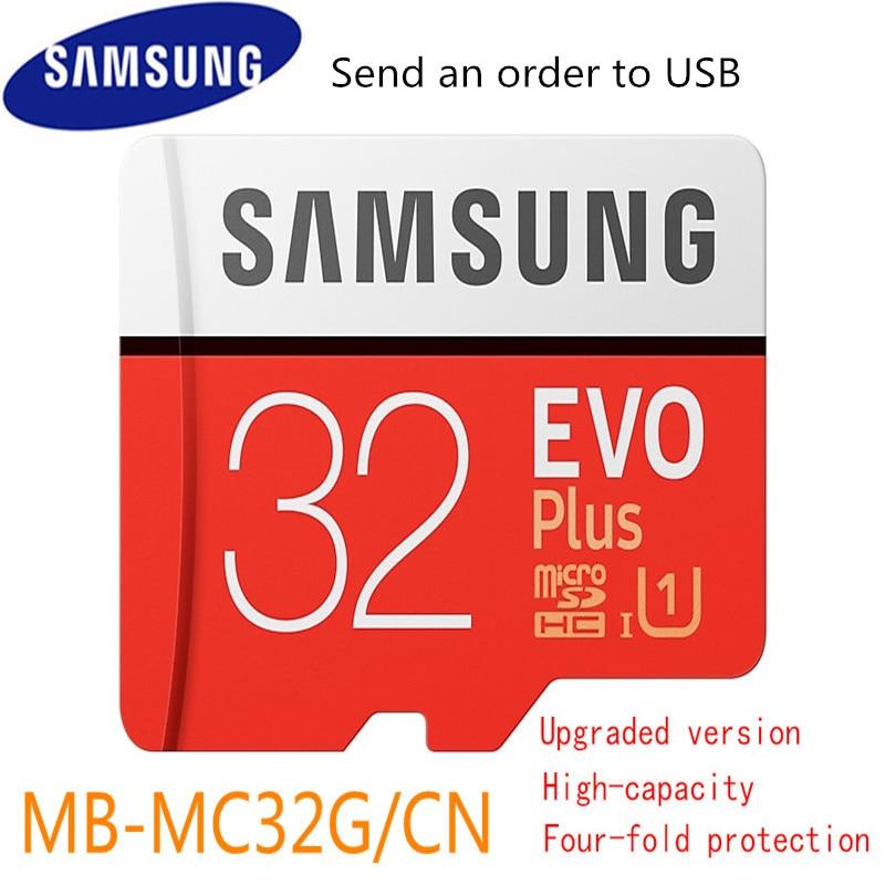 New 100% Original Samsung Micro Sd Memory Card 32gb 64gb 128gb Microsd Cards Sdhc Sdxc Max 95mb/s Evo C10 Flash Drive Tf Card