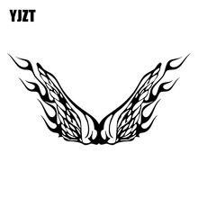 YJZT 17.7X8.9CM Personalidade Chama Decoraiton Carro Adesivo de Vinil Decal Janela Bumper C25-0953