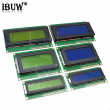 Lcd1602 lcd1604 lcd2004 módulo lcd tela azul iic/i2c 1602 1604 2004 para arduino lcd uno r3 mega2560 tela verde