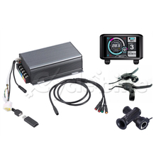 Electric-Bike-Controller Sine-Wave-System Display Bluetooth-Setting 80A 5000w TFT 48v-72v