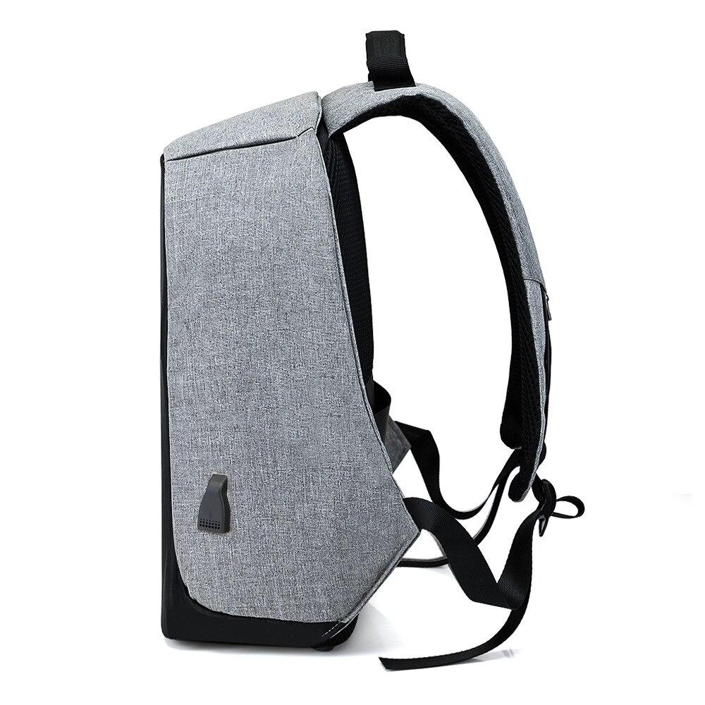 15 pouces sac à dos pour ordinateur portable USB charge Anti vol sac à dos hommes voyage sac à dos étanche sac d'école mâle Mochila - 3
