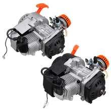 49cc 2 temps tirer moteur de démarrage moteur pour Mini poche fusée fosse Quad Dirt Bike ATV