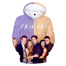 Cool Tv Friends 3D Print Hooded Hoodies Men Women Unisex Sweatshirts Pullover 4 Seasons Tracksuits Letter Boys Girls Clothes(China)