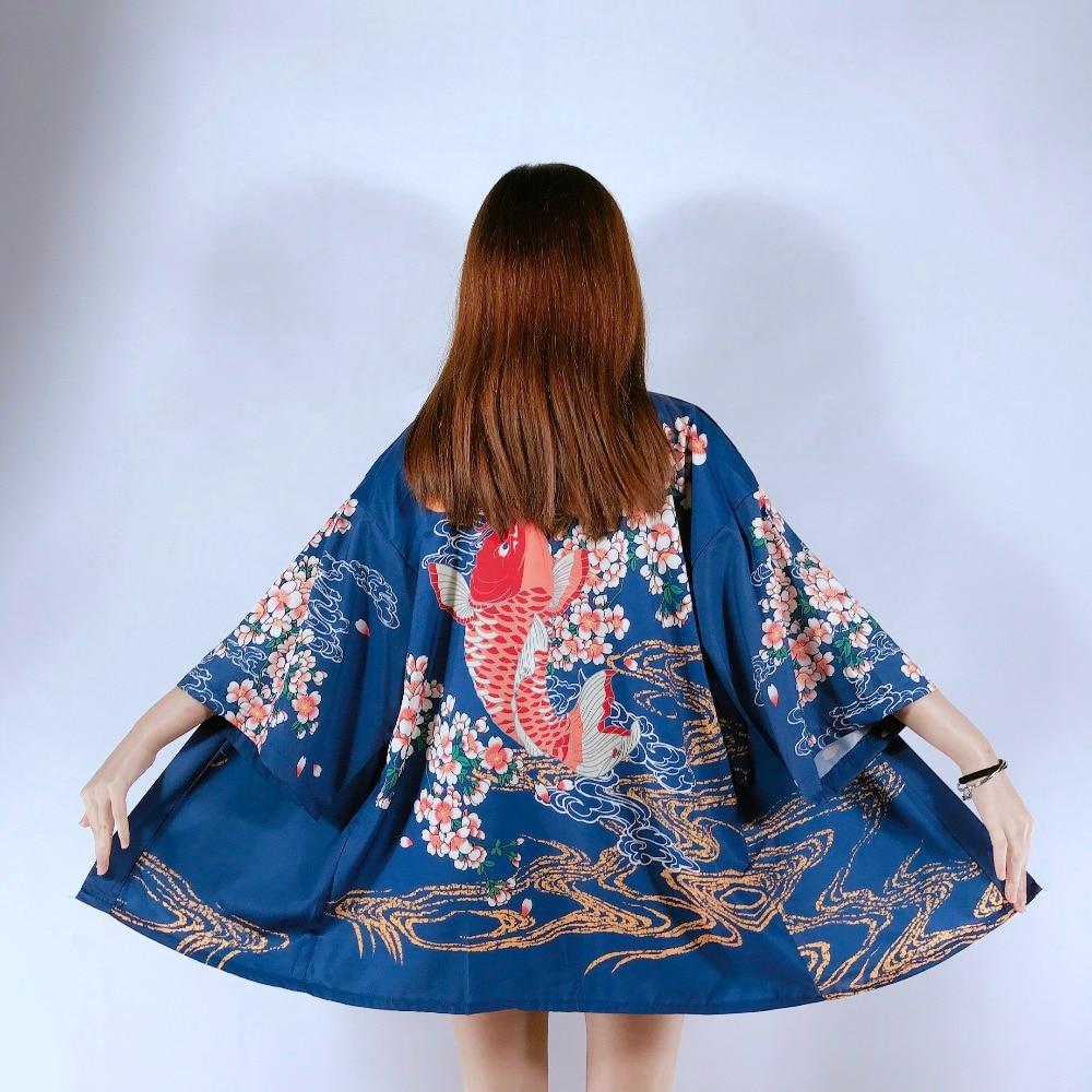 2019 New Japanese Lady Satin Kimono Yukata Vintage Stage Performance Costume Traditional Robe Ladies Japanese Kimono