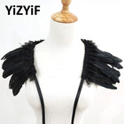 Feather shawl Cape W...