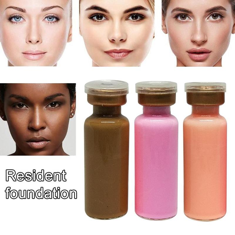 5ml Skin Glow Cream Meso Remnant Cream White Brightening Shrink Pores Repair Natural Nude Concealer Make Up Residency Foundation