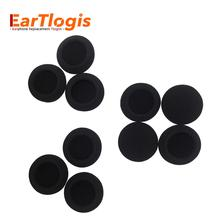 цена на EarTlogis Sponge Replacement Ear Pads for Jabra biz 620 biz620 biz-620 USB Headset Parts Foam Cover Earbud Tip Pillow