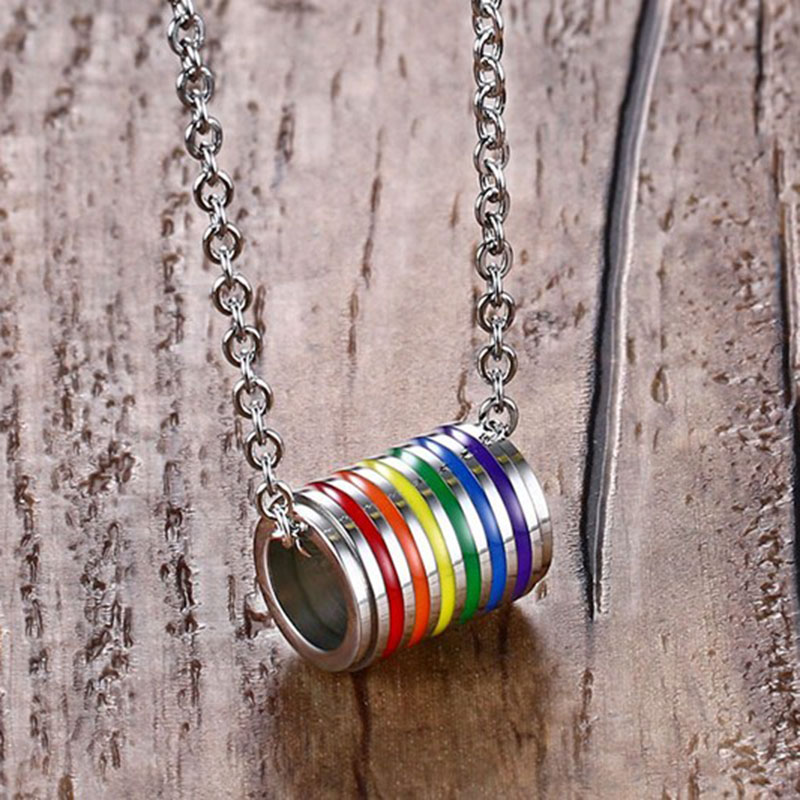 men lgbt necklace (3)