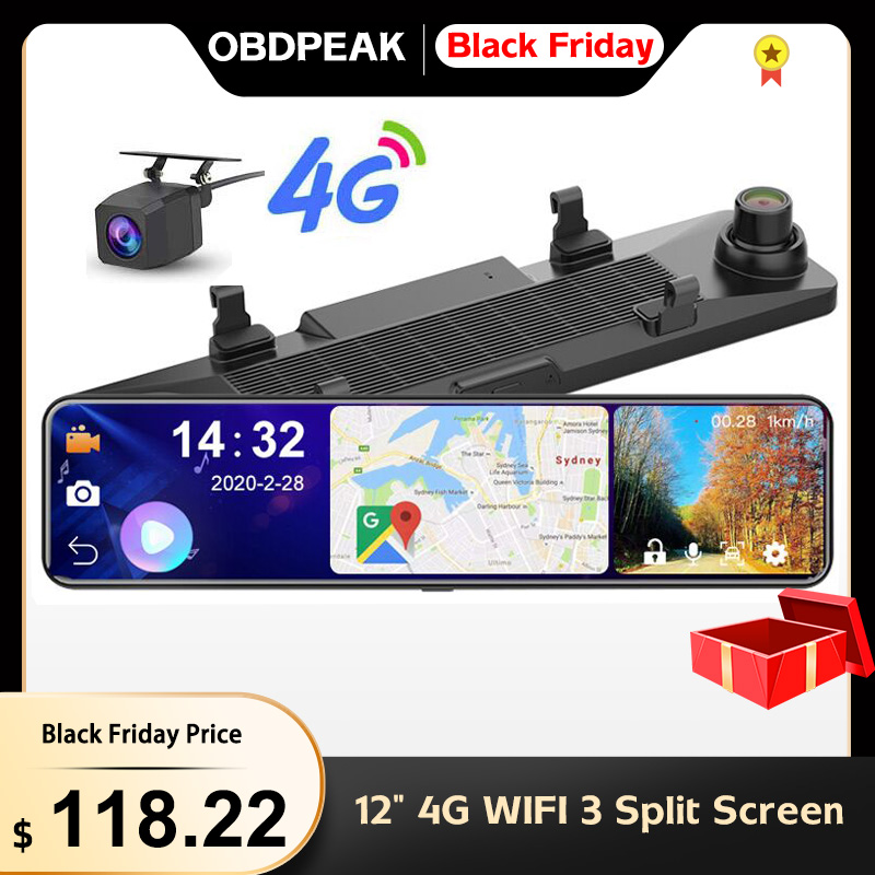 OBEPEAK Smart 4G, Wi-Fi, Android 8,1 12