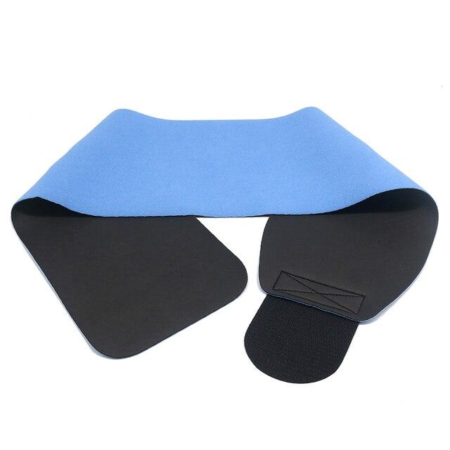 2019 Men Women Popular Waist Support Fitness Belt Elastic Shaping Sweat Wicking Abdomen Sports Fitness Belt Waist Trainer 5