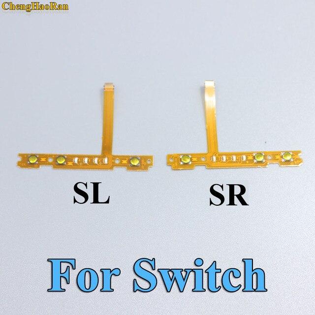 ChengHaoRan 30 Uds. 30 pares para Nintendo Switch For NS Joy-Con SL SR botón cinta de Cable Flex Cable piezas de repuesto