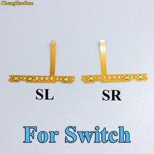 ChengHaoRan 30 sztuk 30pairs dla przełącznik do nintendo dla NS Joy Con SL SR przycisk kabel flex wymiana kabla naprawa części