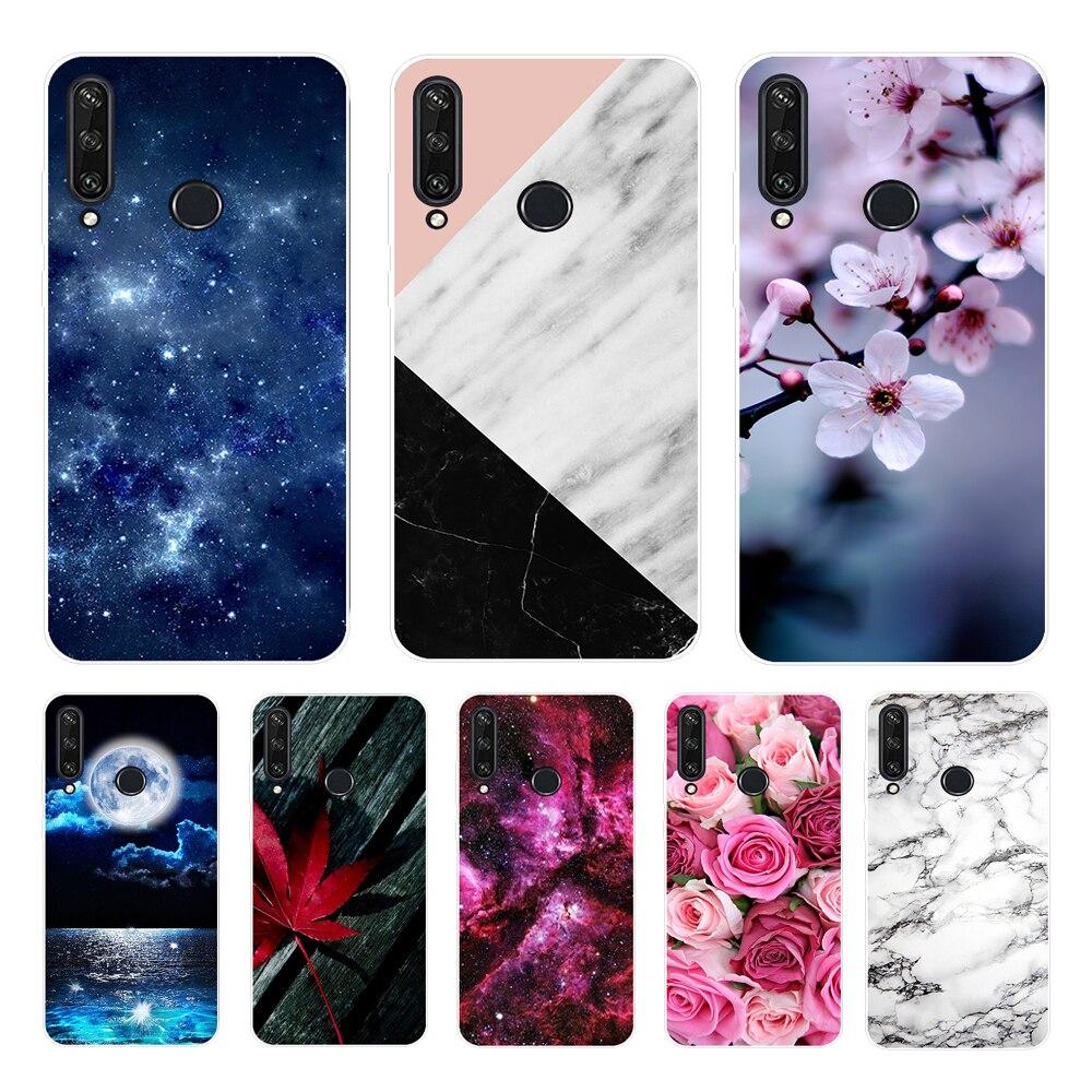 For Huawei Y6P Case Huawei Y6P MED-LX9N Cover Silicone Soft Back Cover Phone Case Huawei Y6P MED-LX9N Y 6P 2020 Case 6.3 inch