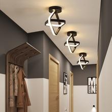 LICAN современные светодиодные потолочные лампы для гостиной, спальни, прохода, балкона, светильник, прихожая, современный потолочный светильник