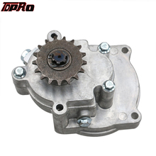 TDPRO 17T T8F Transmission Gear Box Clutch Drum Housing For 2-Stroke Engine 33CC 36CC 43CC 47CC 49CC Mini Pocket Quad Dirt Bike
