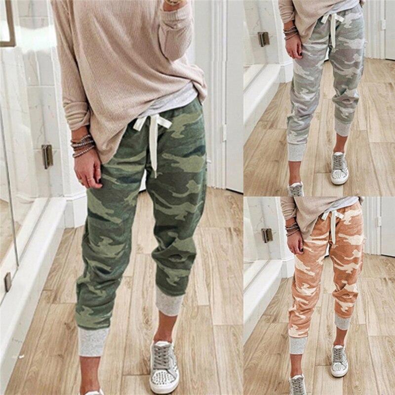 Camouflage Joggers Women Sweatpants Harem Camo Pant 1
