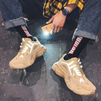 Zapatos informales transpirables para Hombre, zapatillas ligeras, mocasines, temporada otoño