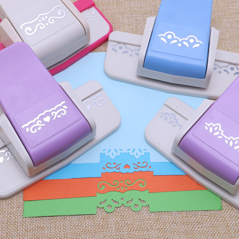 Embossing Punching Machine DIY Hand Tool Craft Punch Paper Shaper Cutter For Card Making Scrapbooking Tags