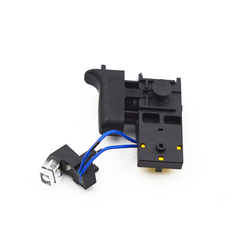 Electric Hammer Speed Switch Replacement for Makita HR2470 LED Electric Hammer Switch Switch Parts