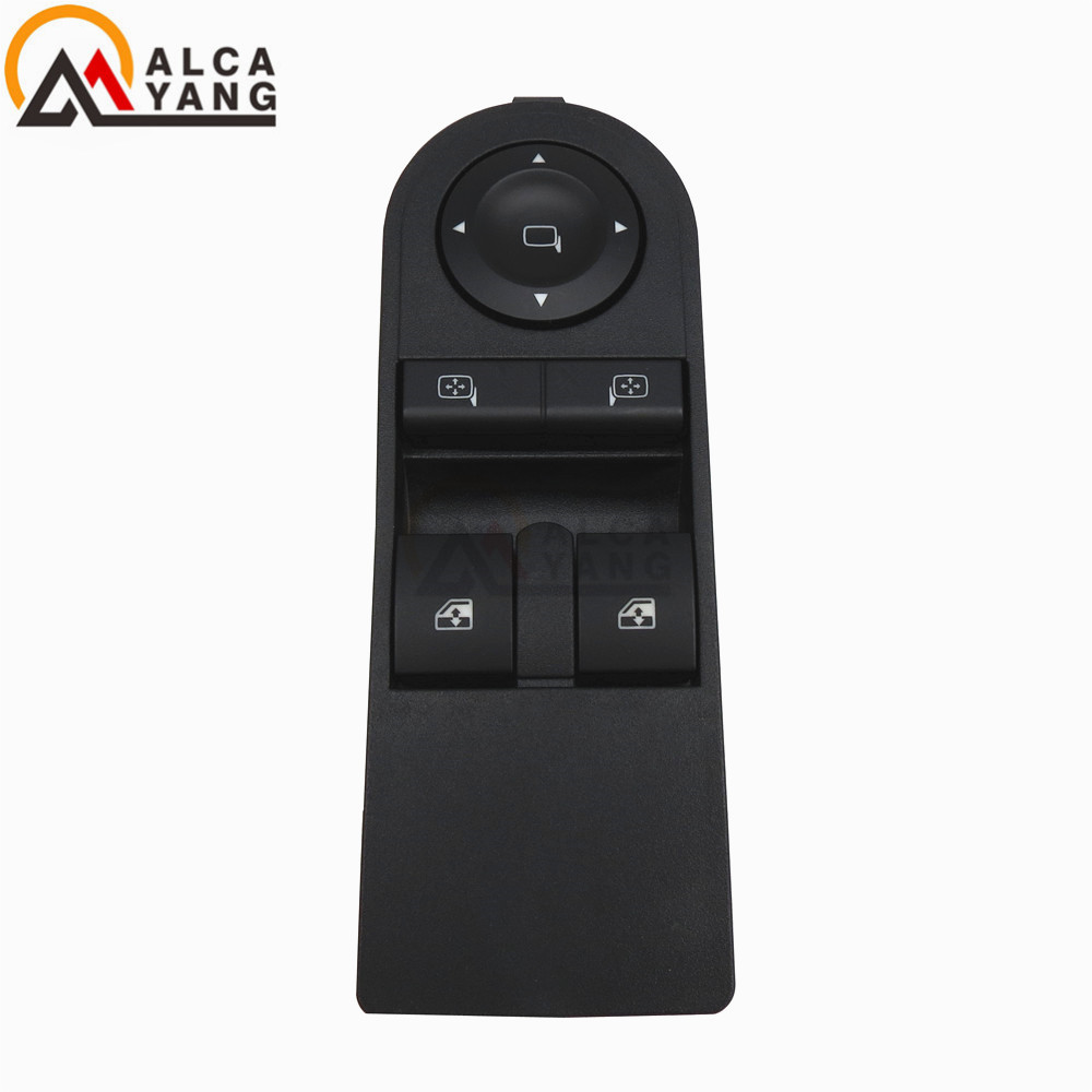 NEW FITS VAUXHALL ASTRA H ZAFIRA B ELECTRIC DRIVER WINDOW MIRROR SWITCH 13228879