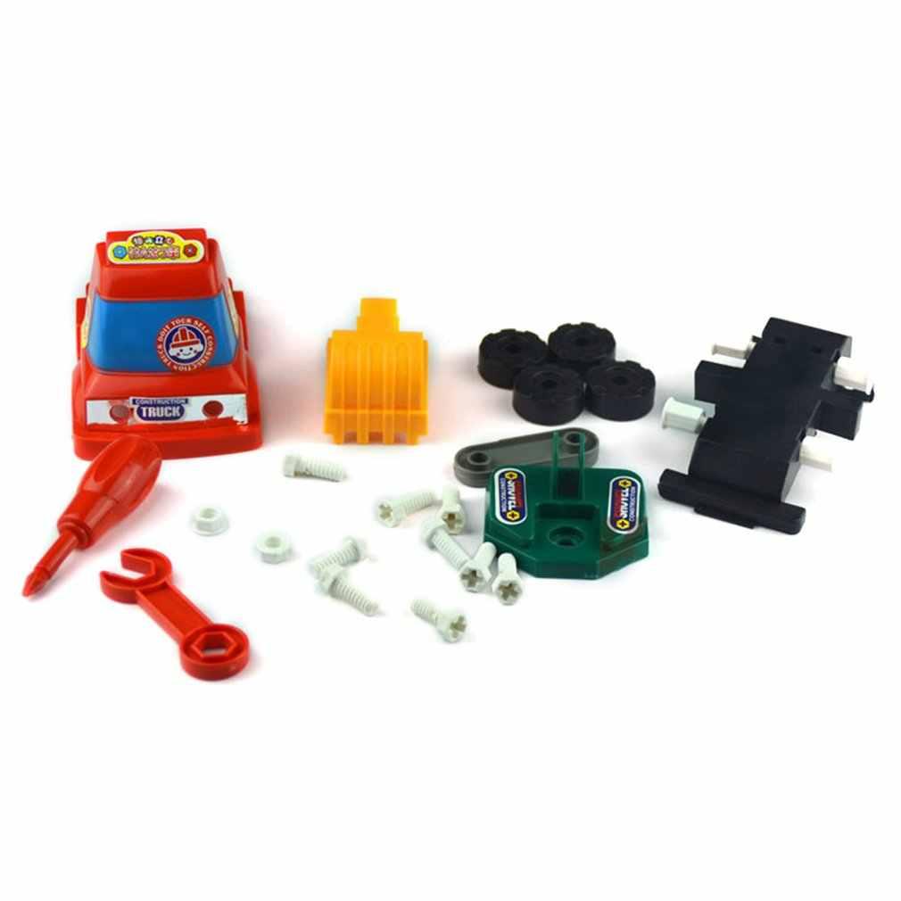 Techniek Carbaby Kids Draagbare Kinderen Inertie Kleine Graafmachine Vrachtwagen Kraan Mixer Verjaardagscadeau Developmental Toy