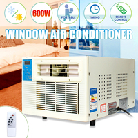 Portable Air Conditioner Window Air Conditioning Box Cooling Heating Cold/Heat Dual Use Air Conditioner Cooler Free Pipe Gift