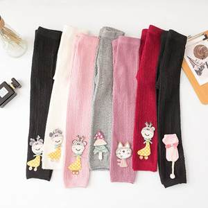Autumn Cotton Baby Leggings Cartoon Children Pants Girls Ankle-length Flexible Warmer Pant Toddler Leggings Baby Girl Leggings