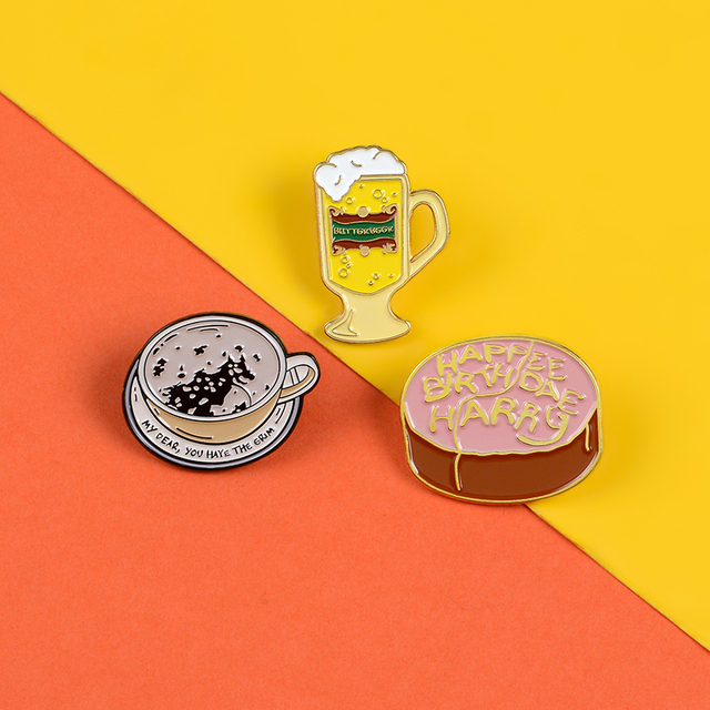 Купить butterbeer кофе торт ко дню рождения эмалированные булавки на