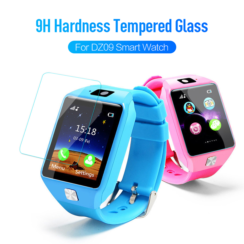 Protective-Film DZ09 Tempered-Glass Smart-Watch Hardness for Full-Cover 3pcs 9H
