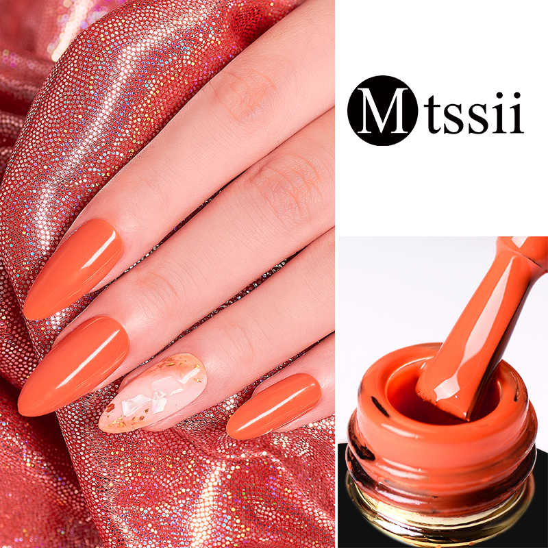 Mtssii 6ml Holographic Glitter GEL 213 สี Long Lasting Soak Off UV LED เจลเล็บ Lacquer HYBRID เคลือบ